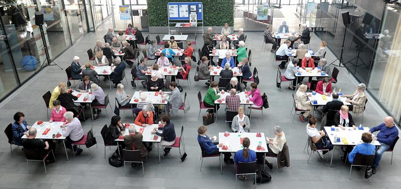 40 Jahre Bridgeclub Villingen-Schwenningen im »Kienzle-Treff – die Schwenninger«, April 2013 Foto: Jochen Schwillo, Südwest Presse